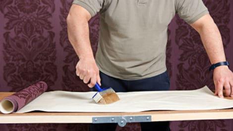Como poner un papel de pared