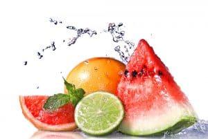 agua con sabor