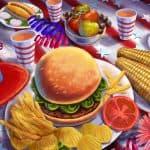 diversidad de la gastronomia americana