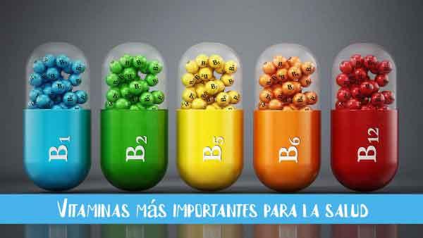 vitaminas mas importantes para salud