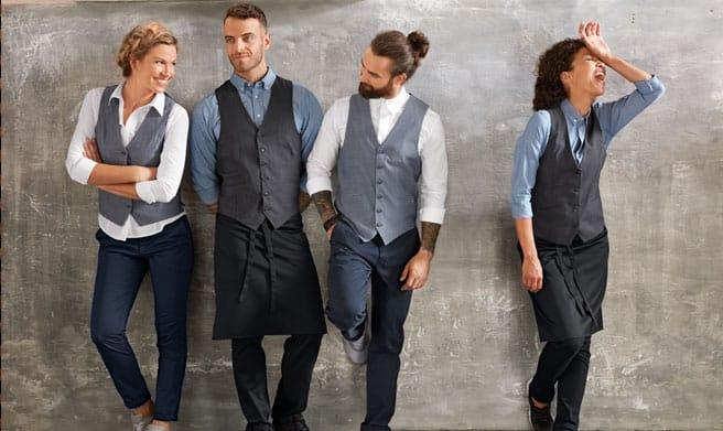 ropa de trabajo para restaurantes